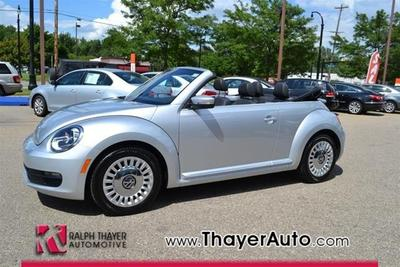 2013 Volkswagen Beetle 2.5L Convertible for sale in Livonia for $19,971 with 5,450 miles.
