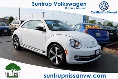 2012 Volkswagen Beetle 2.0T Turbo Hatchback for sale in Saint Louis for $19,991 with 16,604 miles.