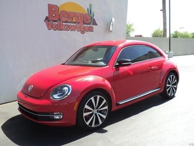 2012 Volkswagen Beetle 2.0T Turbo Hatchback for sale in Gilbert for $19,745 with 11,536 miles.