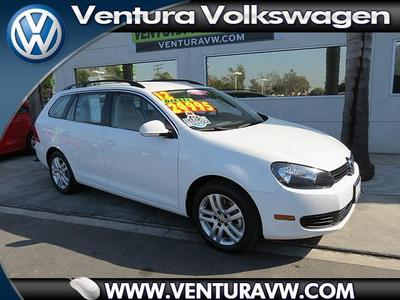 2012 Volkswagen Jetta SportWagen TDI Wagon for sale in Ventura for $26,000 with 34,466 miles.