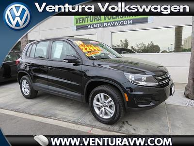 2014 Volkswagen Tiguan S SUV for sale in Ventura for $24,000 with 14,423 miles.