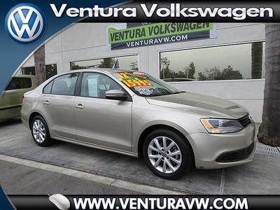 2012 Volkswagen Jetta SE Sedan for sale in Ventura for $17,000 with 44,295 miles.