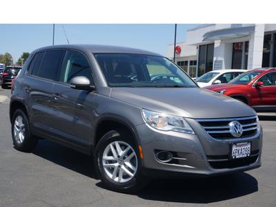 2011 Volkswagen Tiguan S SUV for sale in Merced for $17,595 with 58,168 miles.