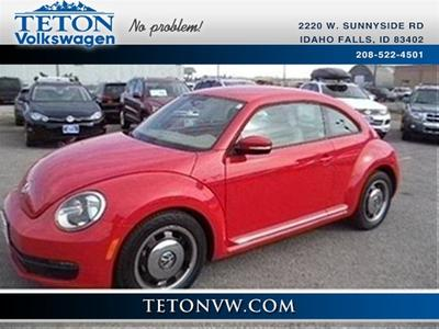 2013 Volkswagen Beetle 2.5L Hatchback for sale in Idaho Falls for $18,958 with 13,700 miles.