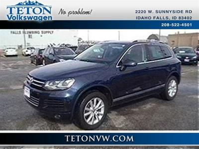 2013 Volkswagen Touareg SUV for sale in Idaho Falls for $37,958 with 27,322 miles.