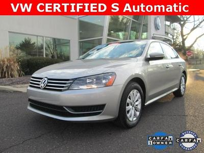 2013 Volkswagen Passat 2.5 S Sedan for sale in Norristown for $17,890 with 9,112 miles.
