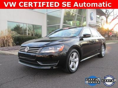 2013 Volkswagen Passat Sedan for sale in Norristown for $20,800 with 9,719 miles.