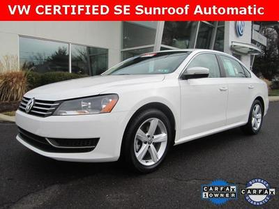 2013 Volkswagen Passat Sedan for sale in Norristown for $21,600 with 7,761 miles.
