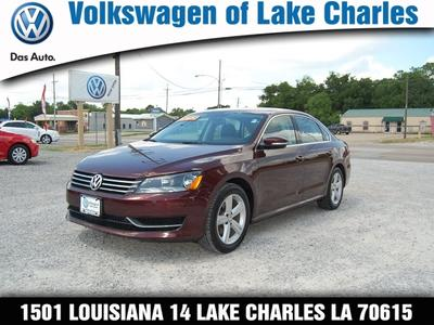 2013 Volkswagen Passat Sedan for sale in Lake Charles for $16,800 with 36,757 miles.