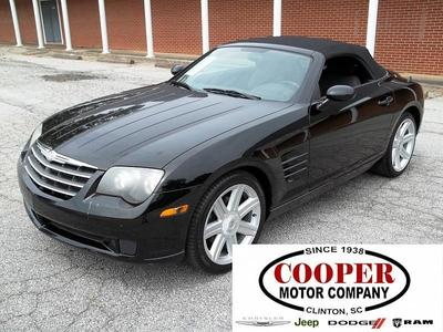 2005 Chrysler Crossfire Convertible for sale in Clinton for $11,995 with 144,059 miles.
