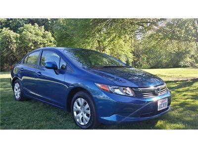 2012 Honda Civic LX Sedan for sale in Modesto for $15,999 with 33,294 miles.
