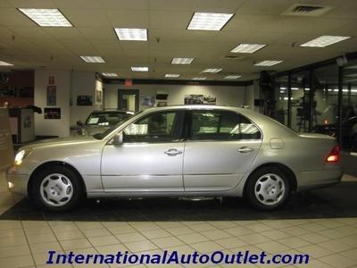 2001 Lexus LS 430 Sedan for sale in Hamilton for $9,495 with 125,000 miles.