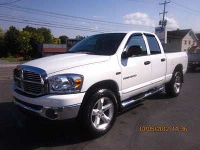 2007 Dodge Ram 1500 SLT Quad Cab Crew Cab Pickup for sale in MIDDLETOWN for $19,495 with 84,423 miles.