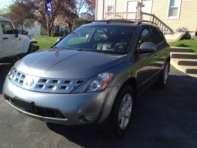 2005 Nissan Murano SL SUV for sale in MIDDLETOWN for $13,995 with 102,108 miles.