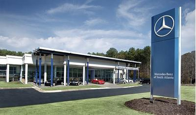 Mercedes benz of south atlanta in atlanta including for Mercedes benz dealers atlanta