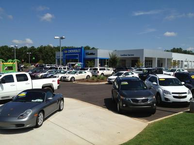 Gary Russ Chevrolet Cadillac in Greenwood including address, phone