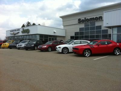 Solomon Chrysler Jeep Dodge RAM in Carmichaels including ...