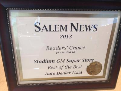 Stadium Gm Superstore In Salem Including Address Phone Dealer Reviews Directions A Map