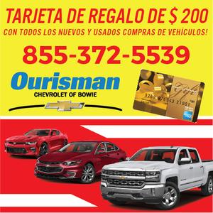 ourisman chevrolet of bowie in bowie including address. Black Bedroom Furniture Sets. Home Design Ideas