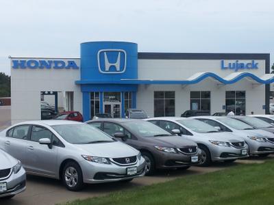 Lujack honda in davenport including address phone dealer for Honda dealers in iowa