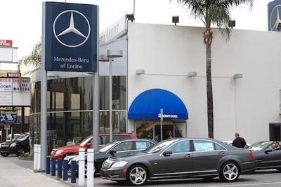 mercedes benz of encino in encino including address phone