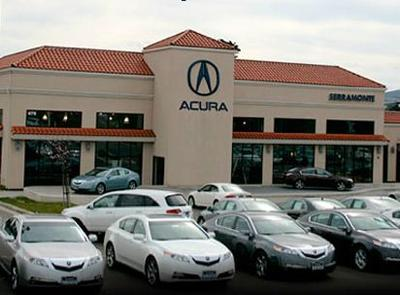 Acura Of Serramonte In Daly City Including Address Phone Dealer