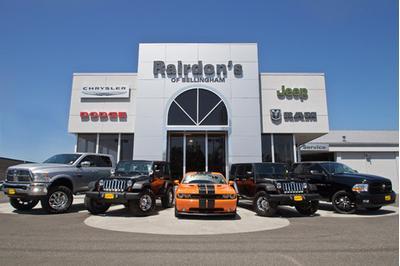 Rairdon's Dodge Chrysler Jeep Hyundai RAM of Bellingham in ...
