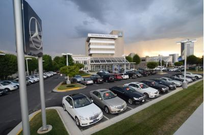 Mercedes benz of tysons corner in vienna including address for Mercedes benz tysons service