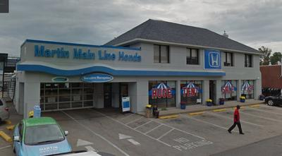 Martin Main Line Honda in Ardmore including address, phone, dealer