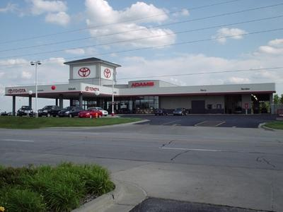 adams toyota in lees summit including address phone dealer reviews directions a map. Black Bedroom Furniture Sets. Home Design Ideas