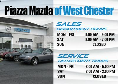 piazza mazda of west chester in west chester including address phone dealer reviews. Black Bedroom Furniture Sets. Home Design Ideas