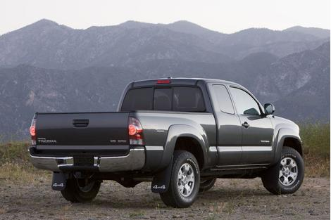 New Toyota Trucks Toyota Tacoma 4X4 2009 Pictures