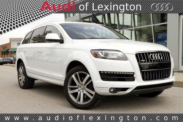 2015 Audi Q7 SUV for sale in Lexington for $54,980 with 4,116 miles