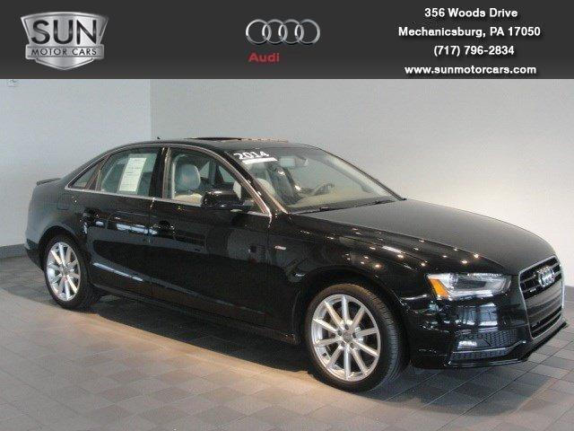 2014 Audi A4 2.0T Premium Sedan for sale in Mechanicsburg for $35,199 with 10,386 miles.