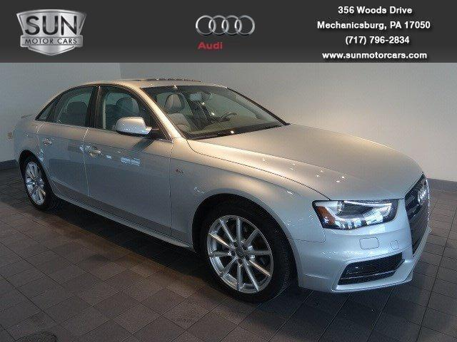 2014 Audi A4 2.0T Premium Sedan for sale in Mechanicsburg for $35,199 with 14,565 miles