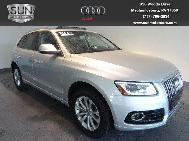 2014 Audi Q5 SUV for sale in Mechanicsburg for $42,599 with 11,761 miles.