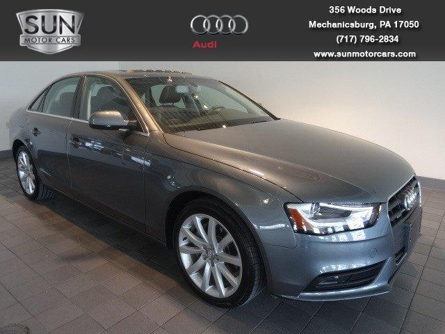 2013 Audi A4 Sedan for sale in Mechanicsburg for $30,999 with 24,400 miles