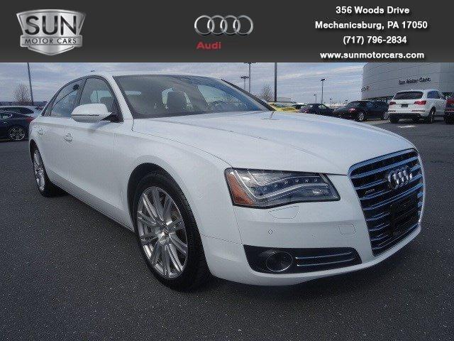 2012 Audi A8 Sedan for sale in Mechanicsburg for $57,899 with 11,329 miles