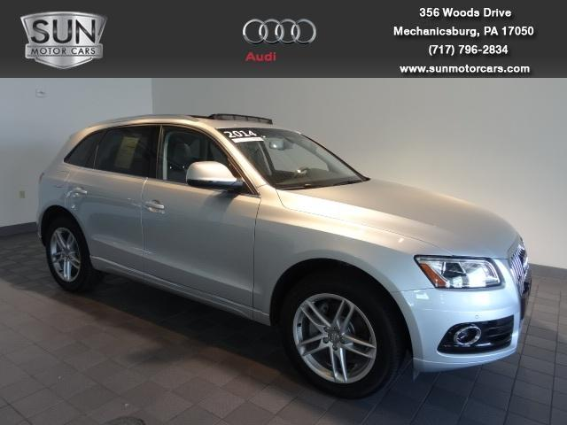 2014 Audi Q5 SUV for sale in Mechanicsburg for $50,599 with 7,202 miles.