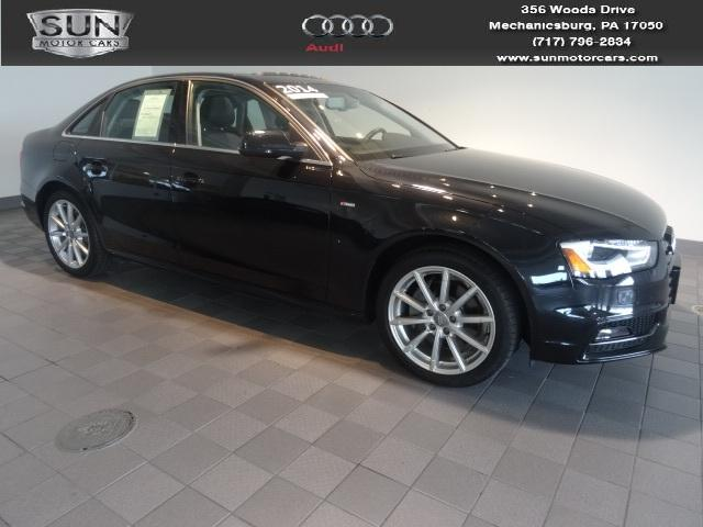 2014 Audi A4 2.0T Premium Sedan for sale in Mechanicsburg for $36,999 with 15,615 miles.