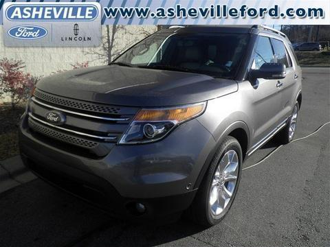 2011 Ford Explorer Limited SUV for sale in Asheville for $29,800 with 59,016 miles.