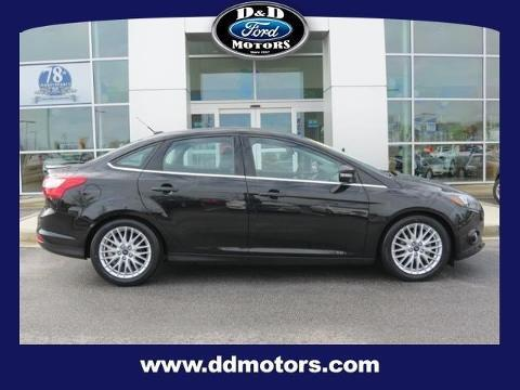 2014 Ford Focus Titanium Sedan for sale in Greer for $19,500 with 21,590 miles