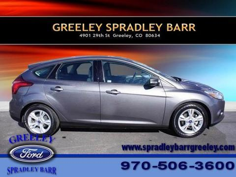 2013 Ford Focus SE Hatchback for sale in Greeley for $15,750 with 11,037 miles.