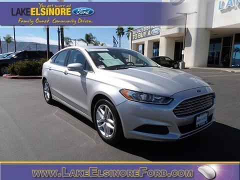 2013 Ford Fusion SE Sedan for sale in Lake Elsinore for $18,997 with 30,136 miles.