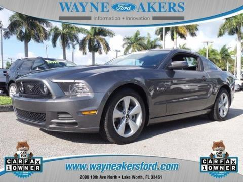 2014 Ford Mustang GT Coupe for sale in Lake Worth for $27,995 with 12,574 miles
