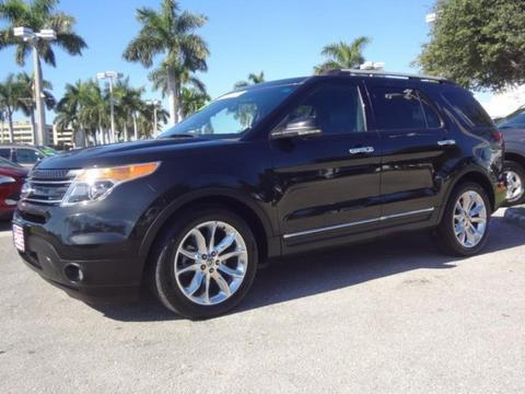 2011 Ford Explorer Limited SUV for sale in Lake Worth for $26,995 with 40,769 miles.