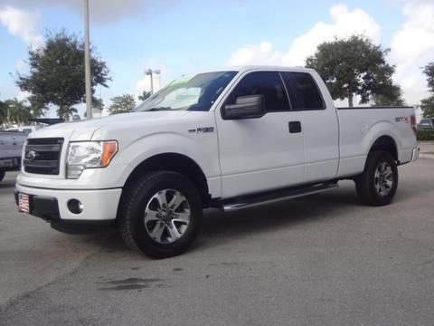 2013 Ford F150 STX Extended Cab Pickup for sale in Lake Worth for $28,995 with 39,052 miles.