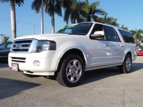 2013 Ford Expedition EL Limited SUV for sale in Lake Worth for $44,995 with 35,497 miles