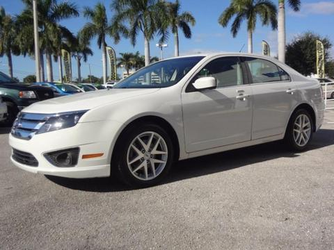 2012 Ford Fusion SEL Sedan for sale in Lake Worth for $12,995 with 51,080 miles.