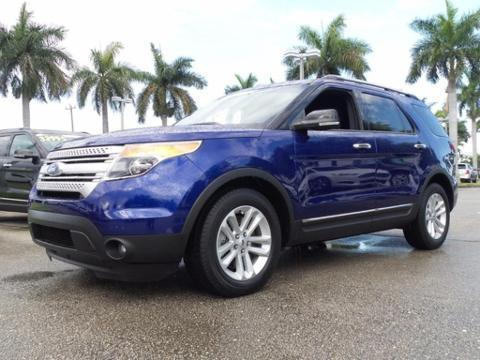 2013 Ford Explorer XLT SUV for sale in Lake Worth for $31,995 with 17,751 miles